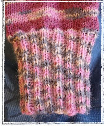 Socken stricken: Bord