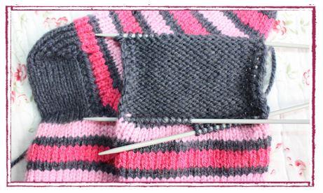 Socken stricken: Ferse