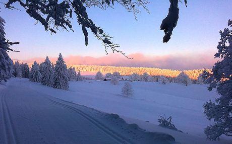 ein Wintertag im Berner Jura